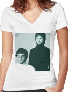 Flight of the Conchords- Family Portrait Women's Fitted V-Neck T-Shirt