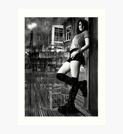 Cant Stand the Rain  Art Print