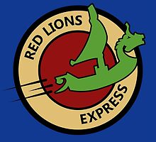Red Lions Express by Gevork Sherbetchyan
