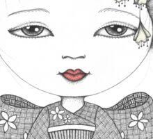 Little Blossom Girl Sticker