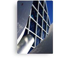Building architecture and sculpture Canvas Print