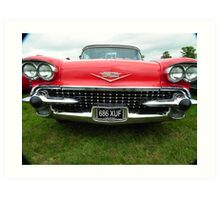 1958 Cadillac  Art Print