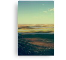 Winding River Canvas Print