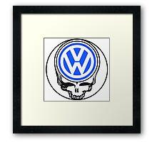 Steal Your Wagen Blue Framed Print