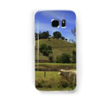 Farmland inThe Mary Valley Samsung Galaxy Case/Skin