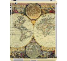 World Map 1675 iPad Case/Skin