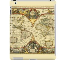 World Map 1641 iPad Case/Skin
