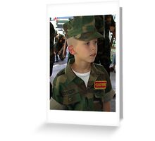 Young Marines Greeting Card