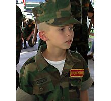 Young Marines Photographic Print