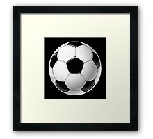 Telstar football ball Framed Print