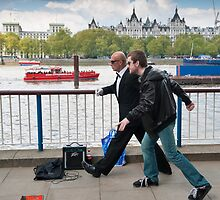Frozen in Time: Southbank Candid by DonDavisUK