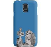 Lady and the tramp Samsung Galaxy Case/Skin