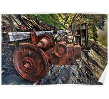 Rotting Boat - Engine Poster