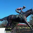 Patrobas, Gippsland's only Melbourne Cup Winner ii by BronReid