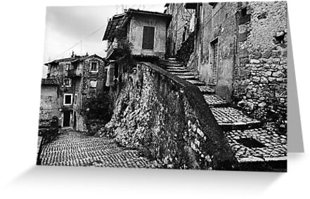 The Back Streets Of Artena by rorycobbe