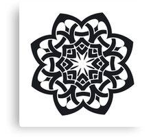 Tribal Celtic knot Canvas Print