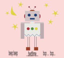 Bedtime robot beep beep One Piece - Long Sleeve