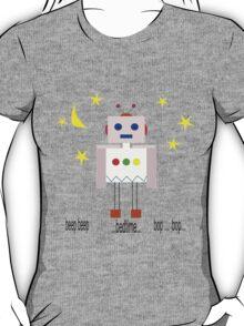 Bedtime robot beep beep T-Shirt