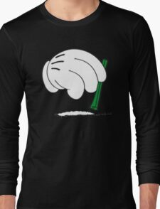 cocaine cartoon hands Long Sleeve T-Shirt