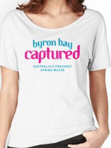 Byron Bay Captured - Logo Women's Relaxed Fit T-Shirt