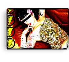 A true bettie page Canvas Print