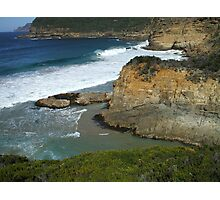 View from Remarkable Cave Track Photographic Print