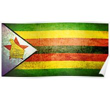 Zimbabwe - Vintage Poster