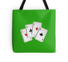 Poker of Aces Tote Bag