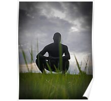 Black Zentai in the Field 3 Poster