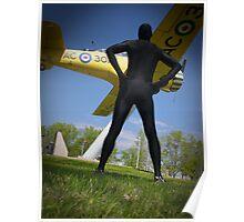 Black Airforce Way Zentai 2 Poster