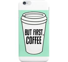 But First Coffee Pop Art iPhone Case/Skin