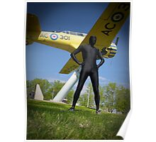 Black Airforce Way Zentai 3 Poster