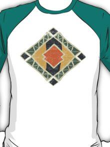Cool Abstract Enchanting Colors and Shapes T-Shirt