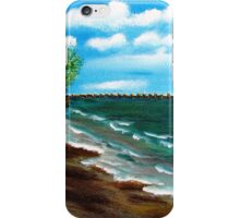 Down By The Shore iPhone Case/Skin