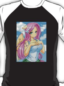 Little Ms. Fluttershy shy girl T-Shirt