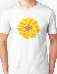 Zinnia in Yellow Unisex T-Shirt