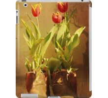 Tulips in Boots iPad Case/Skin