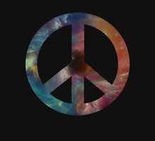 Space Peace Sign Pullover