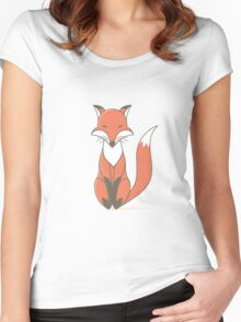 Simple Fox Women's Fitted Scoop T-Shirt