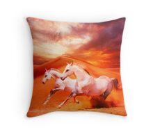 Unbridled Spirit Throw Pillow