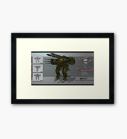 Dynamic Systems Manufacturing Concept Print Framed Print