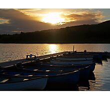 Loch Ore Meadows At Dusk. Photographic Print