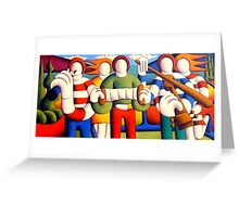 Trad session with troupies Greeting Card
