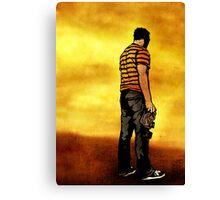 Leroy Unmasked (Print Version) Canvas Print