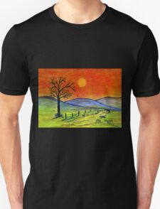 A tree somewhere in Africa Unisex T-Shirt