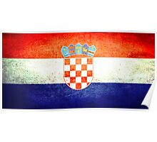 Croatia - Vintage Poster