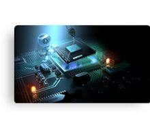 Computer Hardware Canvas Print