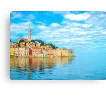 Dalmatian Coast Canvas Print