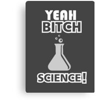 Yeah Bitch... Science! Canvas Print