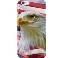 Proud American Bald Eagle iPhone Case/Skin